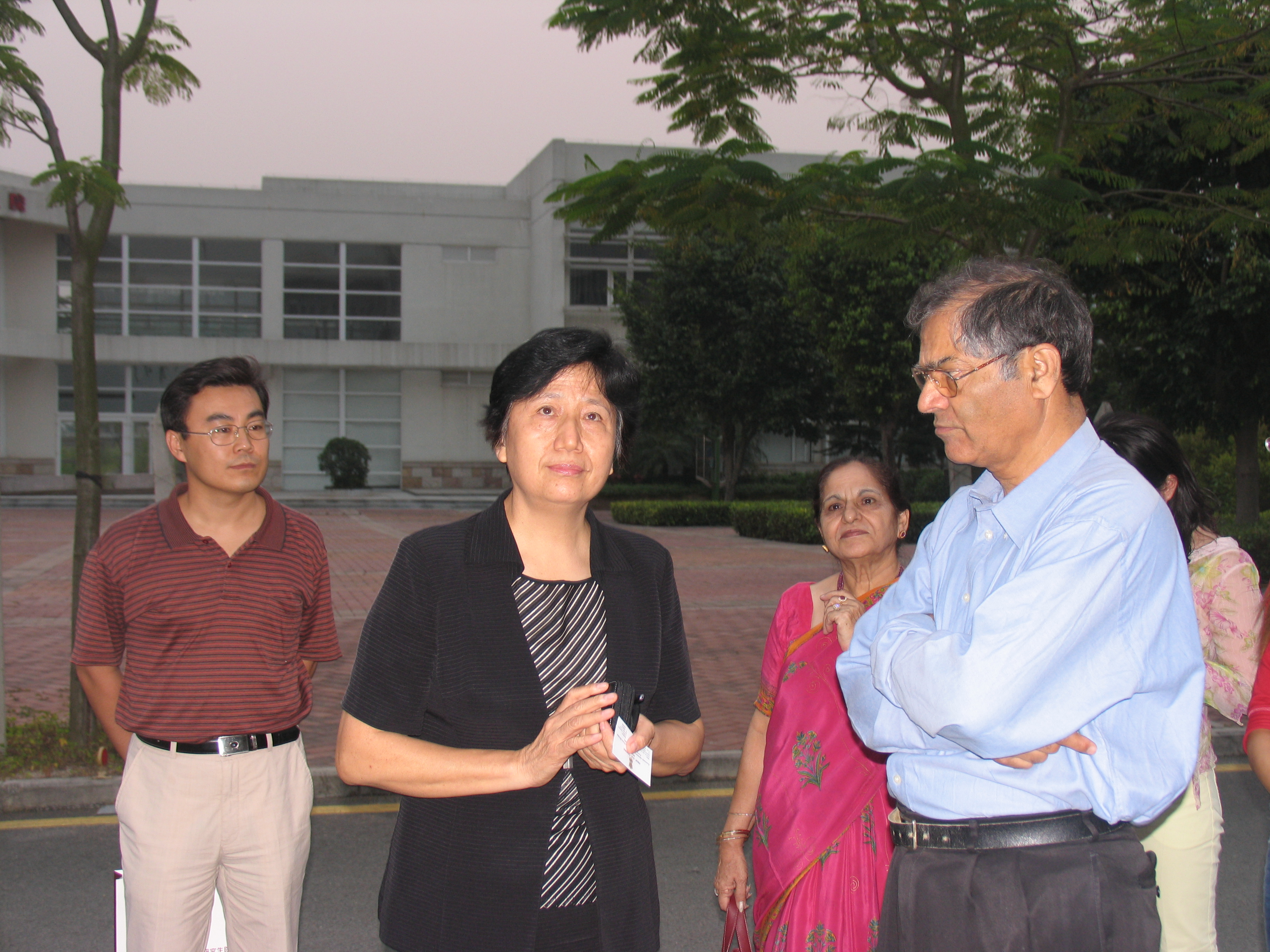 印度总理顾问来访我院