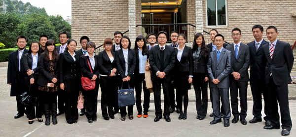 国际法学院师生参观广东海埠律师事务所