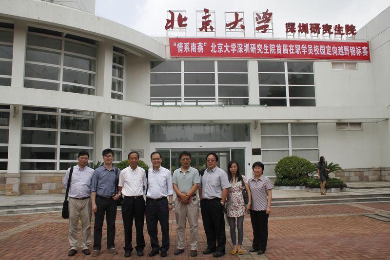 香港城市大学副校长林群声一行来访我院