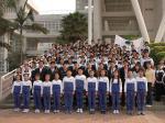 2008深圳外国语学校学生干部培训营在我院开营
