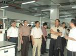 2007省政协港澳台委员会委员一行参观我院化学基因组学实验