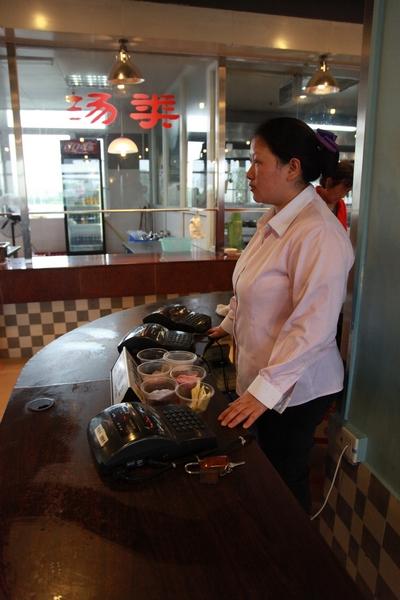 身边的普通人专题(四)钟林娟:细心的食堂收银员