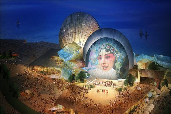 城市规划与设计学院陈可石教授主创中国唯一海上歌剧院——珠海歌剧院竣工在即