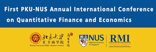 First PKU-NUS Annual International Conference on Quantitative Finance and Economics