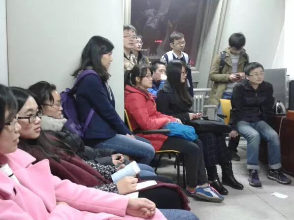 化生学院2015级党支部(北京)学习领会十八届五中全会精神