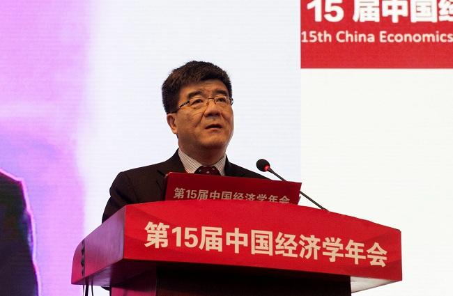海闻院长在第十五届中国经济学年会上的致辞