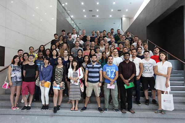 金沙澳门官网下载app迎来82名国际学生