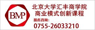 北京大学汇丰商学院商业模式创新课程