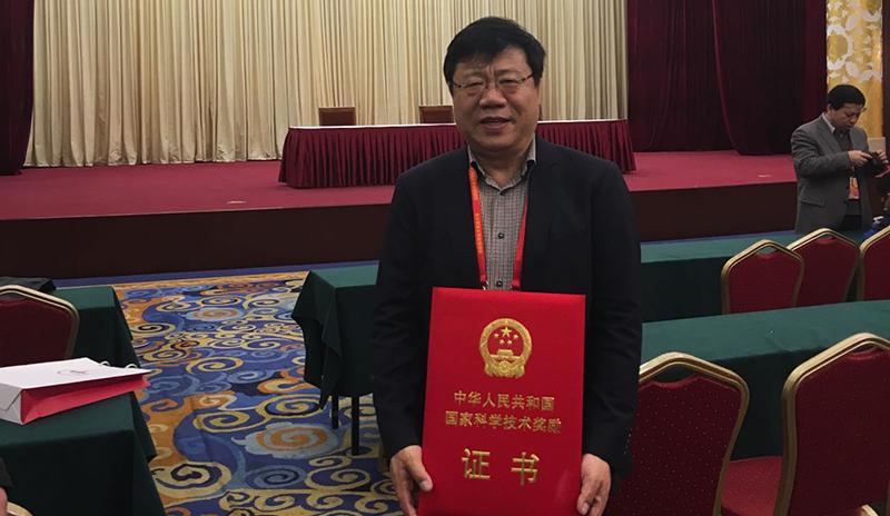 我院化学生物学与生物技术学院杨震教授荣获2016年国家自然科学奖