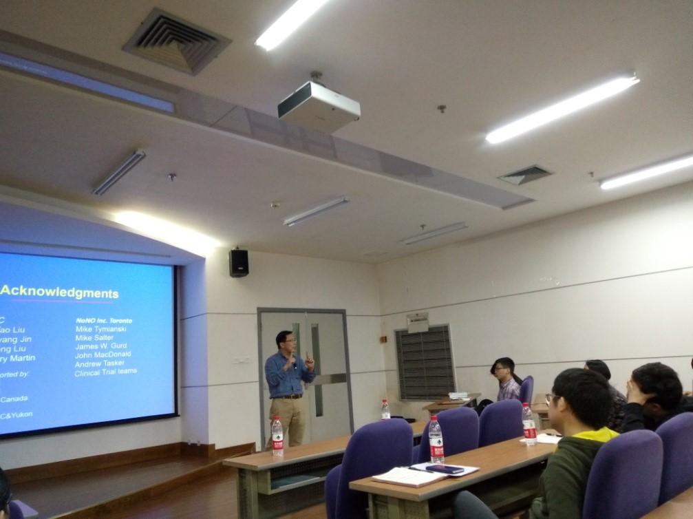 英属哥伦比亚大学王玉田教授来访我院