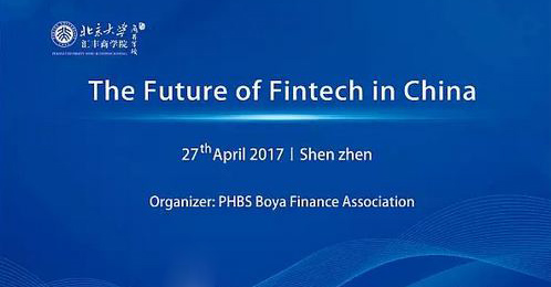 The Future of Fintech in China