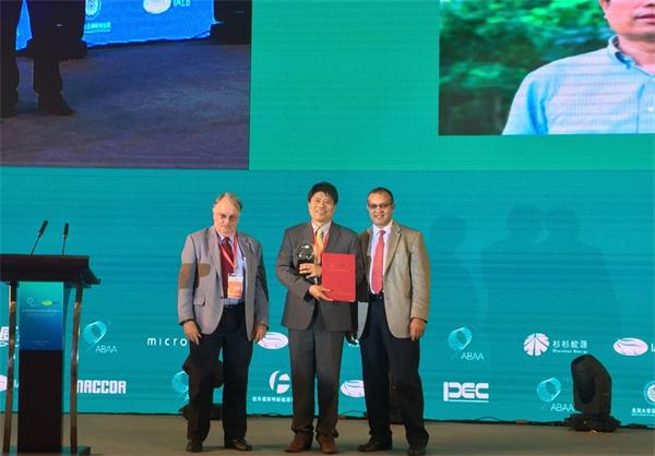 潘锋教授荣获2016年国际电动车锂电池协会(IALB)杰出研究奖