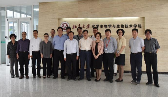 国家科技部和深圳市科技创新委员会领导莅临4166am备用进行调研