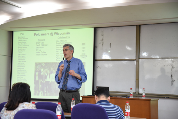 NANYAN LECTURE: Prof. Sam H Gellman from University of Wisconsin, Madison visite