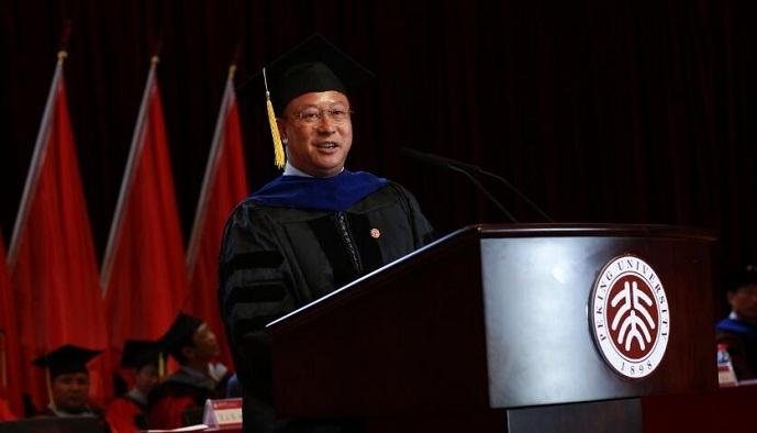吴云东院长在金沙澳门官网下载app2017年毕业典礼上的讲话
