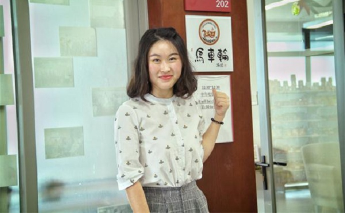 【优秀毕业生风采系列报道】高迎红:春风十里  不如有缘识你