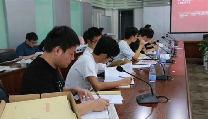 4166am备用学生党支部书记大会顺利召开