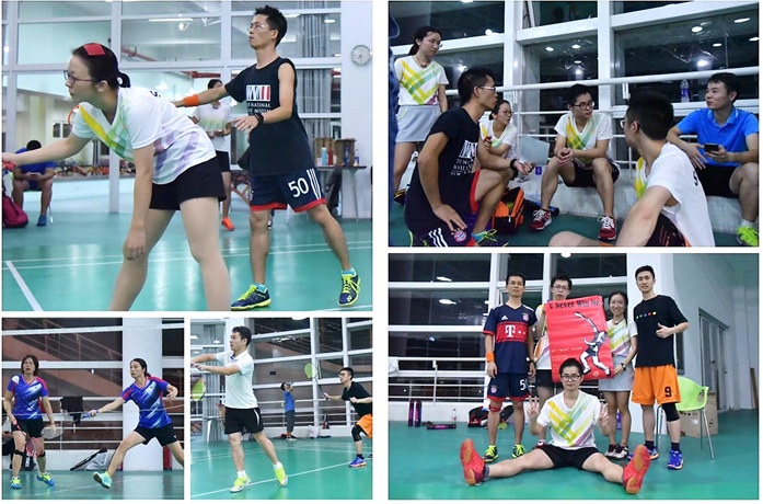 我院荣获2017南燕首届体育文化节羽毛球赛亚军