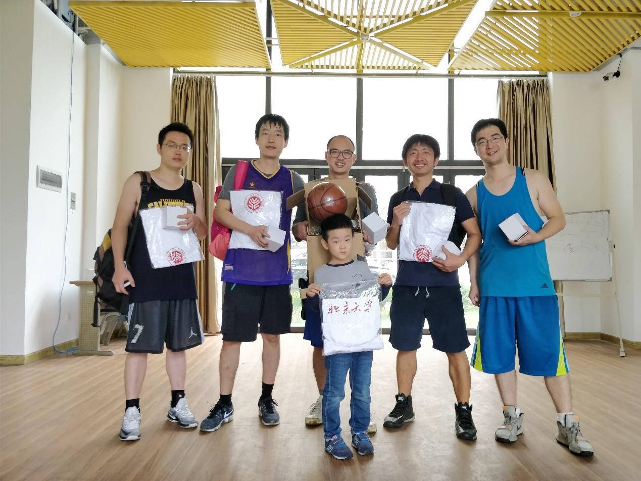 """第二届北京大学南燕""""校友杯""""篮球赛顺利举办"""