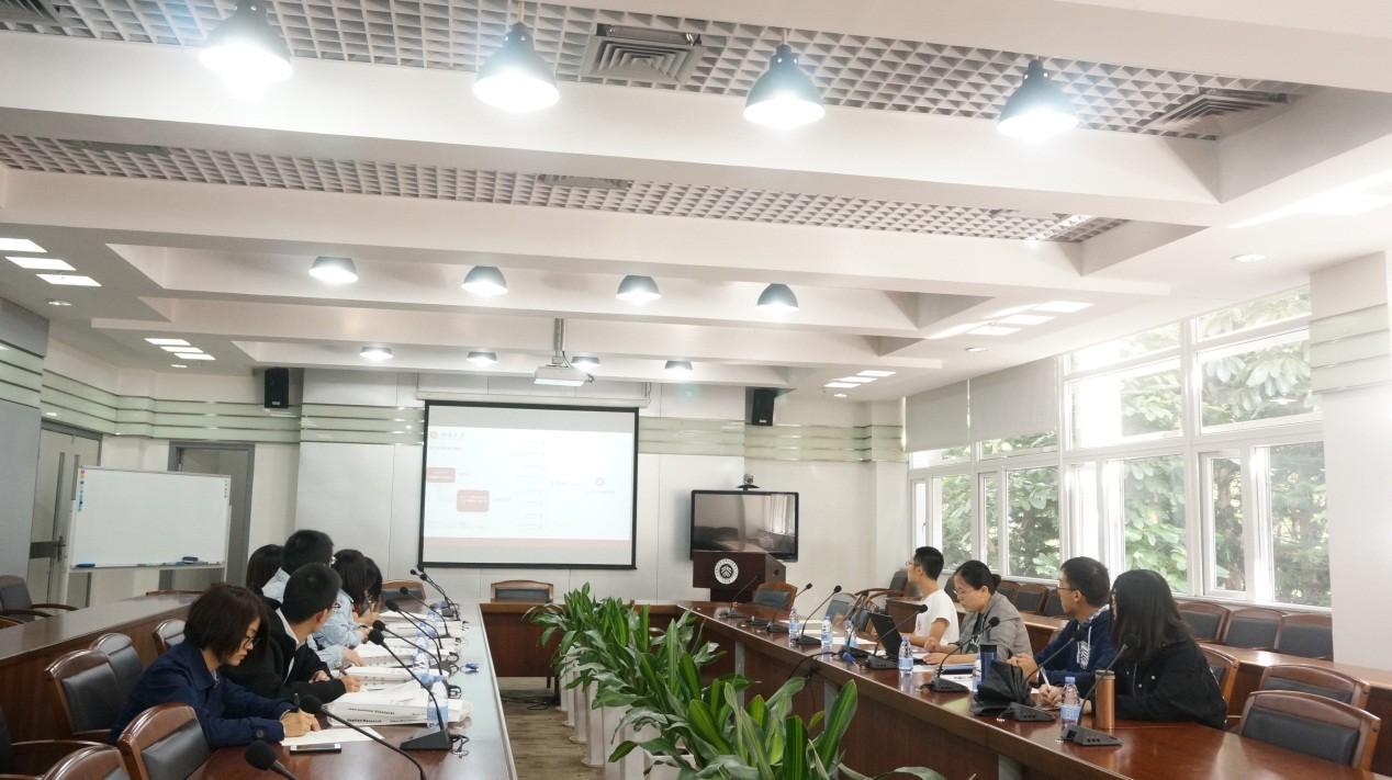中国农业大学校团委一行赴我院参访交流