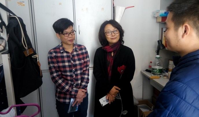 学工处举行业务知识竞赛并看望春节留校学生