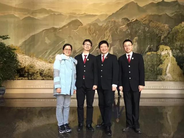 国际法学院2014级何佩同学被评定为最高人民法院第四批优秀法律实习生