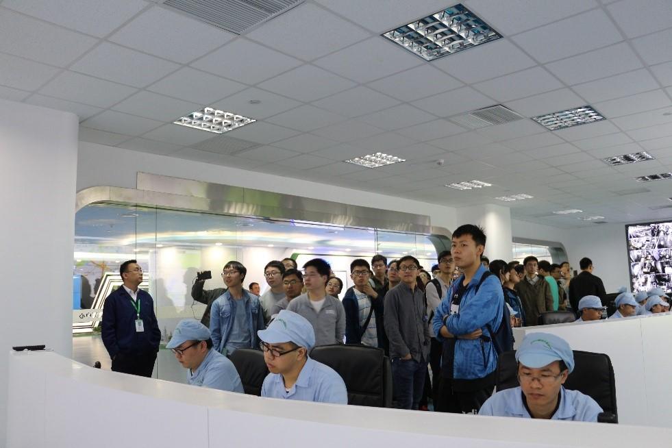 新材料学院师生受邀参观沃特玛电池有限公司、科晶智达科技有限公司