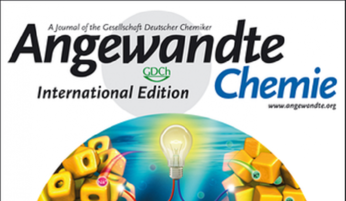 新材料学院发表Angewandte Chemie International Edition封面文章