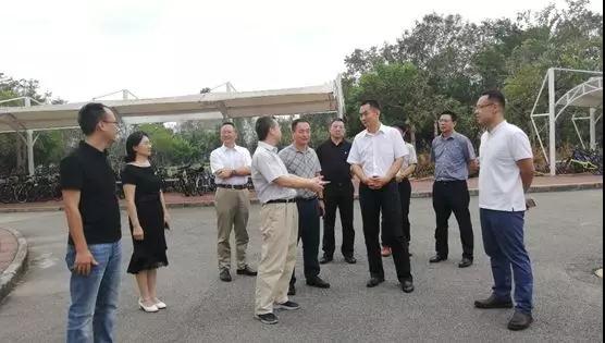 深圳市人社局许少英副局长一行参观指导我院筑底空间