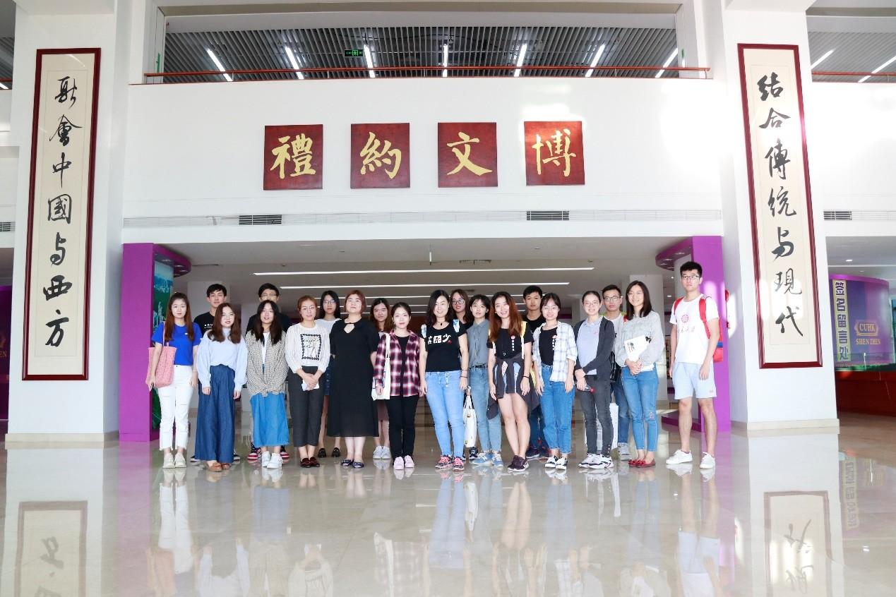 南燕新闻社赴香港中文大学(深圳)进行校媒交流活动