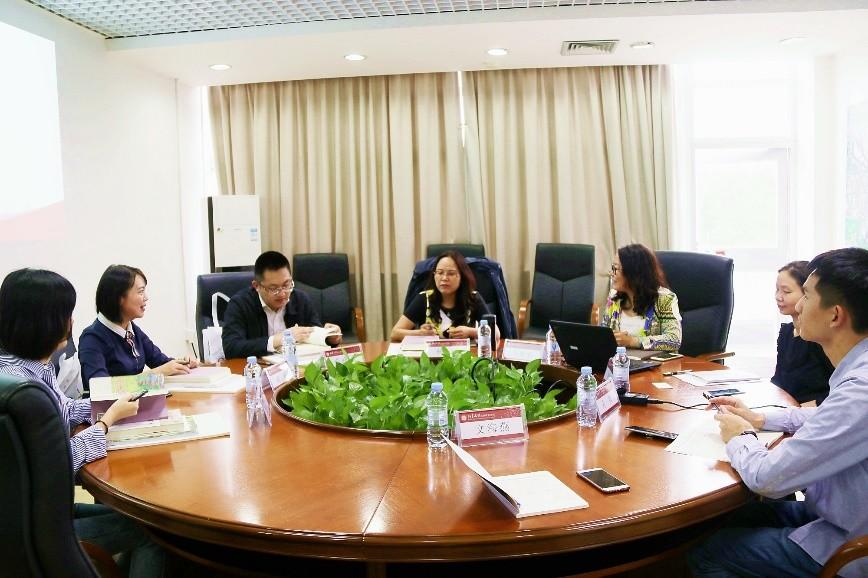 四川省成都市金堂县县委常委、总工会主席杨涛一行访问我院