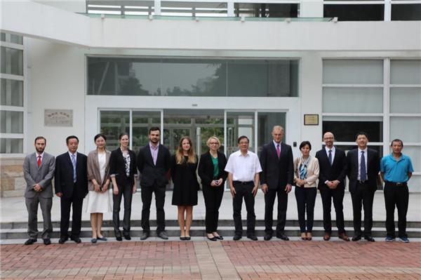 波兰大使及波兰总领事一行来访北京大学深圳研究生院