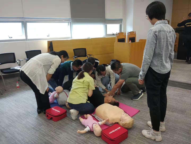 第二期初级急救培训顺利完成