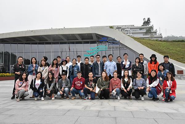学院组织师生参观国家基因库