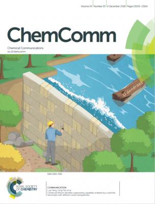 新材料学院在固态锂电池界面工程研发取得重要进展以封面文章发表于ChemComm