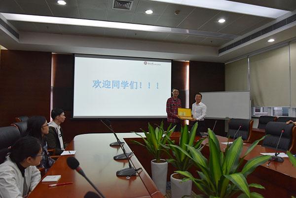广州中医药大学师生到访我院