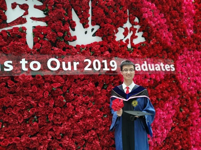 【2019优秀毕业生】脚踏实地,拥抱未来——汇丰商学院刘力