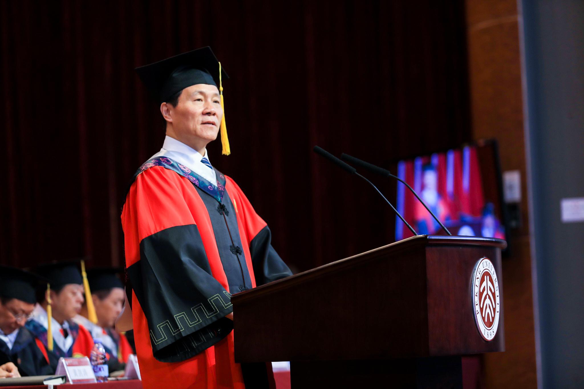 传承五四精神,勇担时代重任——詹启敏院长在2019年毕业典礼上的致辞