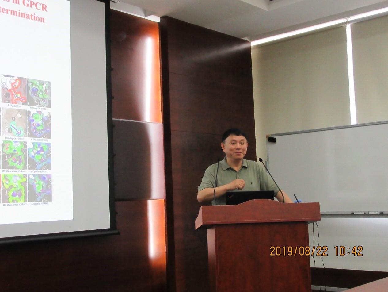 国家新药筛选中心主任兼国家化合物样品库主任王明伟研究员到访实验室