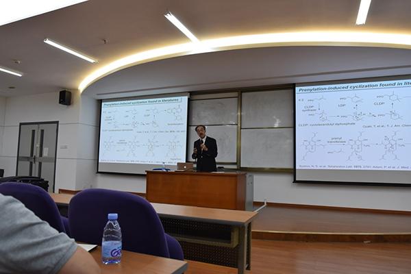 康龙化成讲座: 北海道大学的Hideaki Oikawa教授来访重点实验室