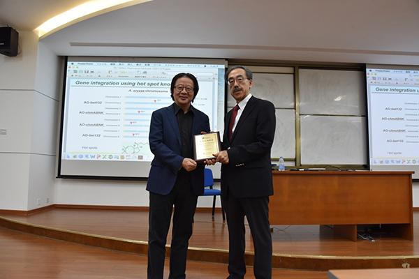 Pharmaron lecture: Professor Hideaki Oikawa visited SCBB