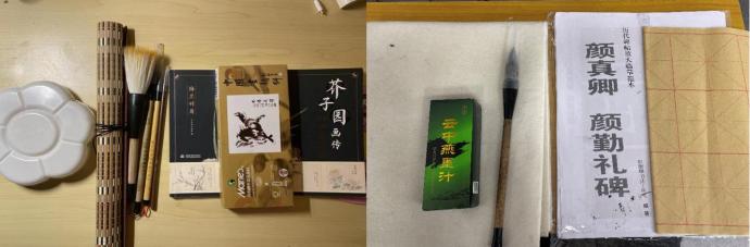紙墨南燕,詩畫作伴——記南燕書法國畫通識課