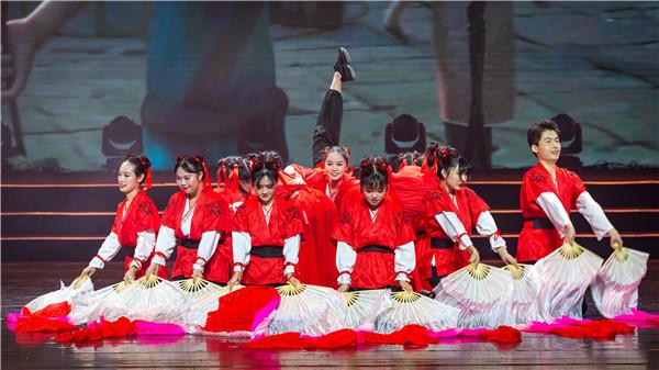 我院南燕艺术团携舞蹈《哪吒》亮相北京大学2020年新年联欢晚会