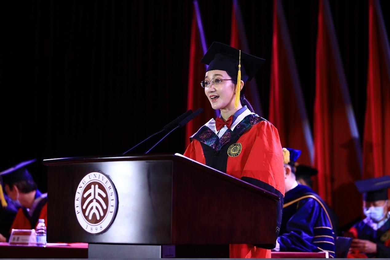 做乘风破浪的少年——教师代表李倩副教授在2020年毕业典礼上的发言